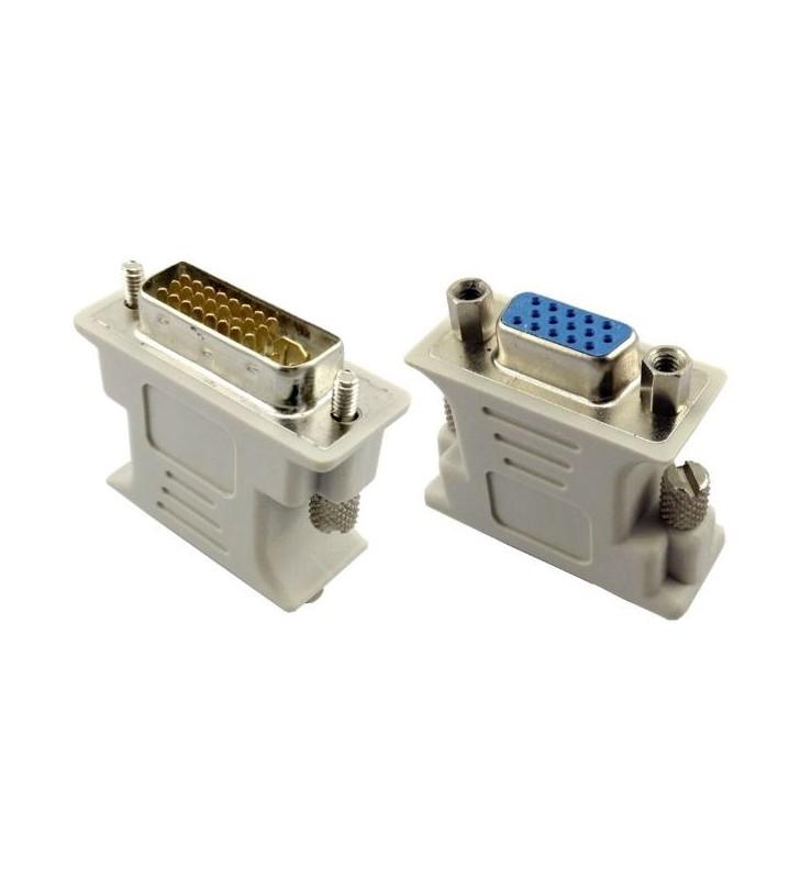 Adapter DVI 24+5 pin M σε VGA HD POWER TECH