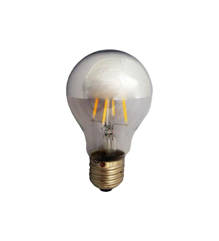 ΛΑΜΠΑ LED ΑΝΕΣΤΡΑΜ. ΚΑΘΡ. FILAMENT 6W E27 2700K 240V DIMMABLE - EUROLAMP (147-80960)
