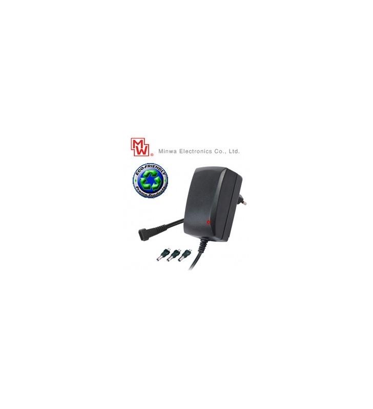 ΣΤΑΘΕΡΟΠΟΙΗΜΕΝΟ ΤΡΟΦΟΔΟΤΙΚΟ ΠΑΚΑΚΙ 9-24V / 1,5A MINWA Eco-Friendly MW3G15GS