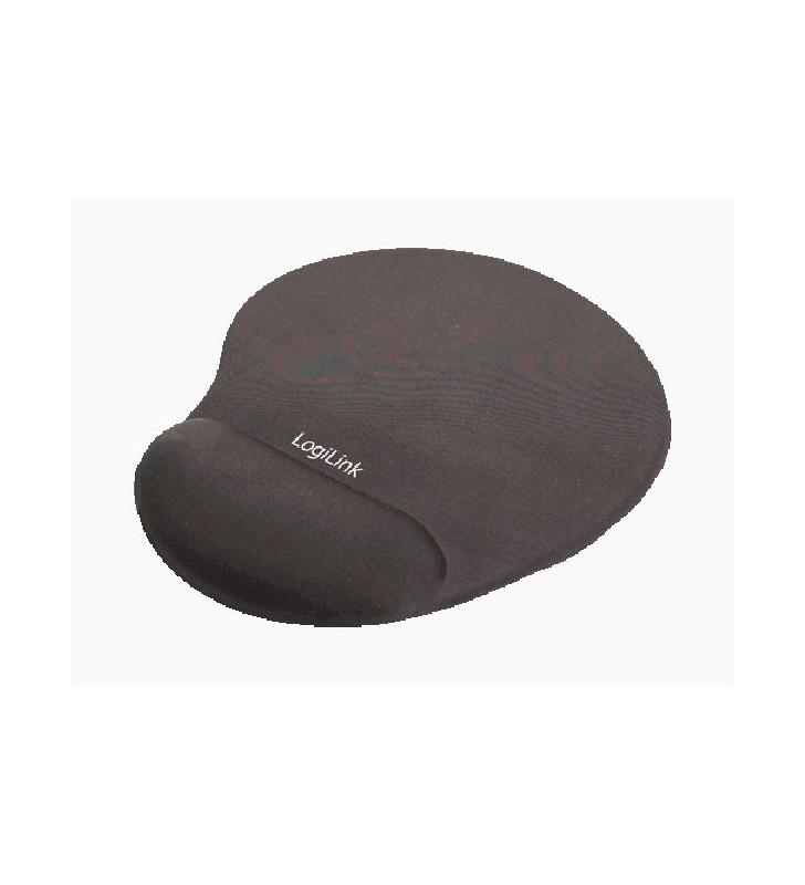 Mousepad GEL Wrist Rest LogiLink ID0027 Black - LOGILINK