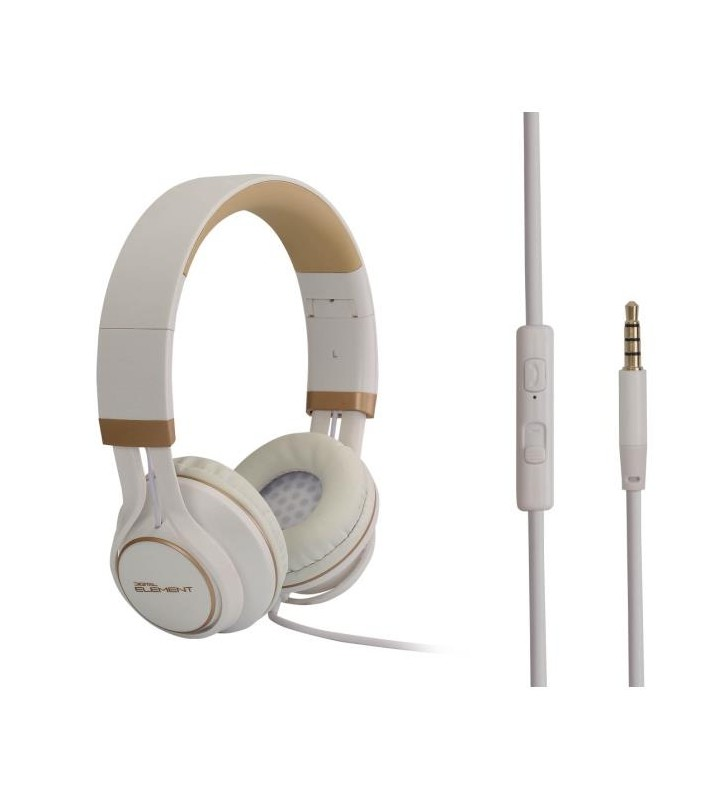 Ακουστικά Κεφαλής με μικρόφωνο, Headphone Element HD-670-W