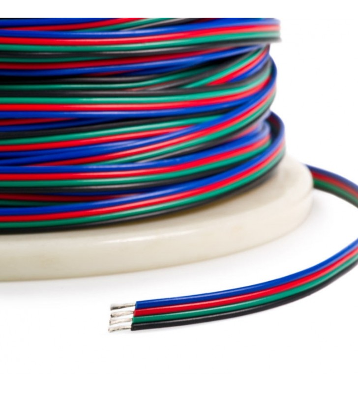Καλώδιο RGB 4 x 0.25mm² GloboStar 43152