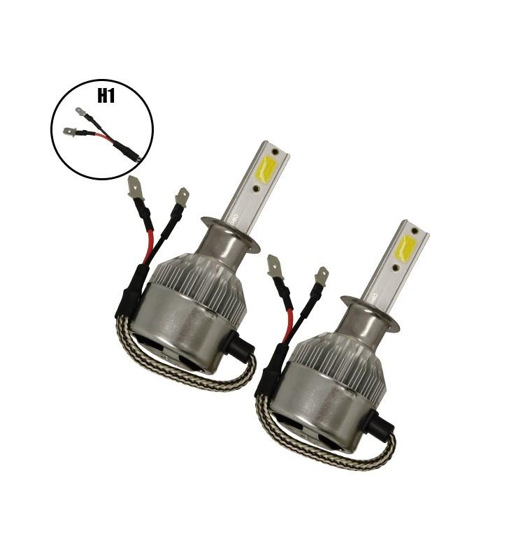 LED HID Kit H1 36 Watt 8-48 Volt DC 3800 Lumen 6000k C6 Economy Line GloboStar 06660