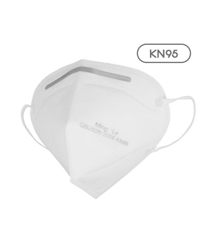 Μάσκα Μίας Χρήσης KN95 - FFP2 GB2626-2006 EN 14683-2019 1 Τεμάχιο GloboStar 777771