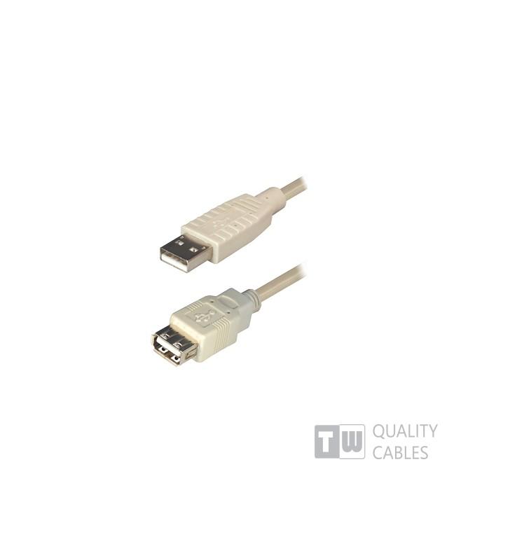 ΚΑΛΩΔΙΟ USB 2.0 ΠΡΟΕΚΤΑΣΕΩΣ ΑΡΣ - ΘΗΛ ΜΗΚΟΥΣ 2Μ ΓΚΡΙ