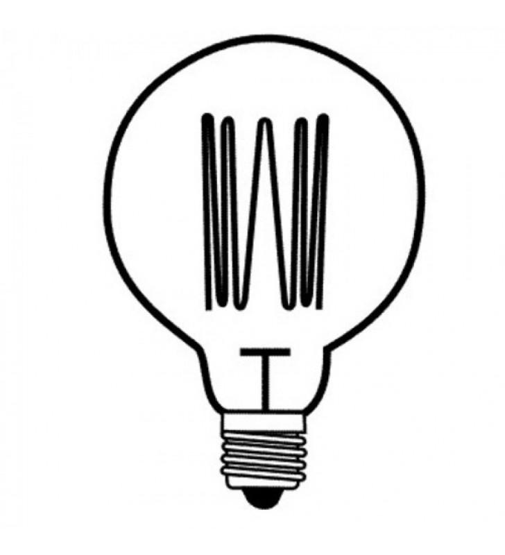 Λάμπα Edison Vintage G125 60W Ε27 2200k 240lm - ΕnjoySimplicity (EL301251)