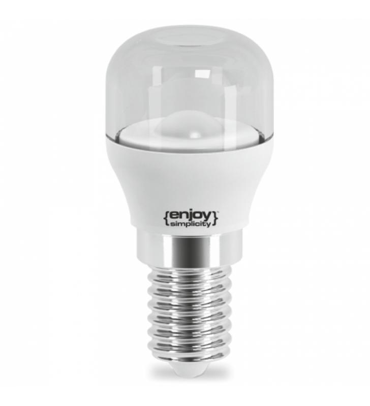 Λαμπάκι LED T25 ΨΥΓΕΙΟΥ 1.6W (10W) Ε14 2700k 110lm διάφανο - ΕnjoySimplicity (EL772110)