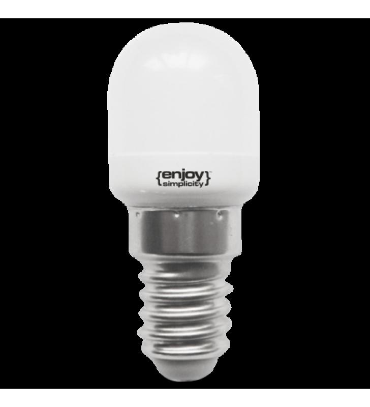 Λαμπάκι LED T23 ΝΥΚΤΟΣ 1.5W (10W) Ε14 6000k 120lm γυάλινο - ΕnjoySimplicity (EL774126)