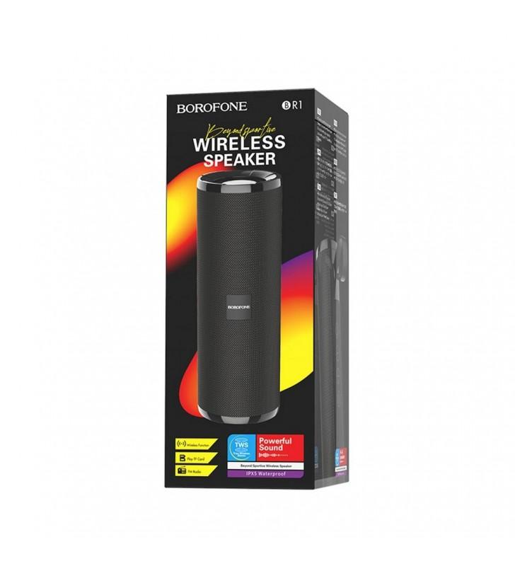 Φορητό Ηχείο Wireless Borofone BR1 Beyond Μαύρο 1200mAh, 5W και TF Card