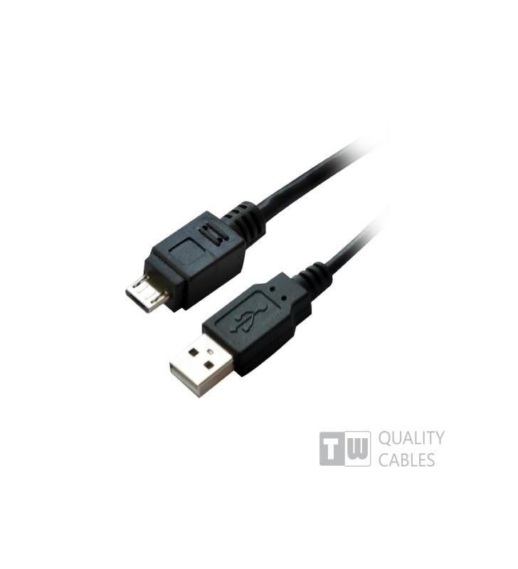 ΚΑΛΩΔΙΟ USB 2.0 ΣΕ MICRO USB 2Μ
