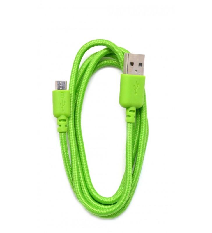 ΚΑΛΩΔΙΟ USB 2.0 ΣΕ MICRO USB 1m ANCUS ΚΟΡΔΟΝΙ ΜΕ ΕΝΙΣΧ/ΝΕΣ ΕΠΑΦΕΣ ΠΡΙΣΙΝΟ