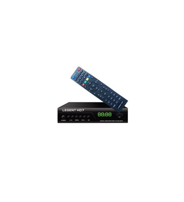 ΕΠΙΓΕΙΟΣ ΨΗΦΙΑΚΟΣ ΔΕΚΤΗΣ LEGENT HD7 FULL HD, DVB-T2 H.265 HEVC