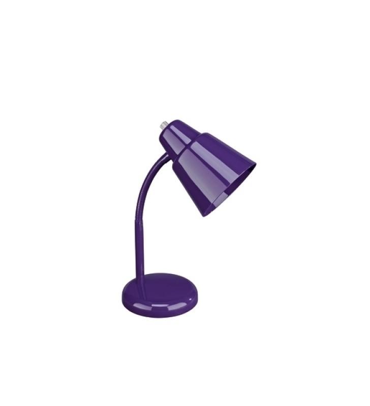ΦΩΤΙΣΤΙΚΟ ΓΡΑΦΕΙΟΥ MASSIVE STEPHAN 1x25W 230V purple ΜΠΛΕ