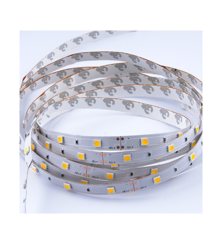 LED ΤΑΙΝΙΑ 7.2 watt 30 smd 5050 Led RGB