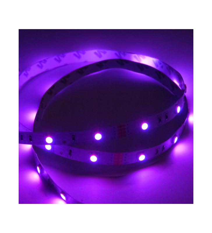 LED ΤΑΙΝΙΑ 7.2 watt 30 smd 5050 Led ΑΔΙΑΒΡΟΧΗ RGB
