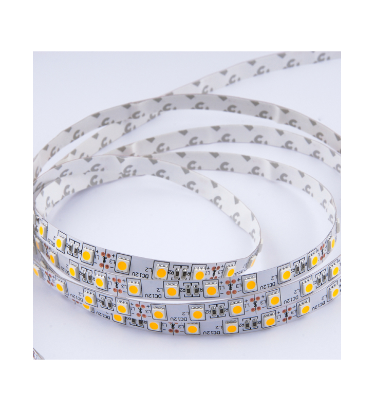 LED ΤΑΙΝΙΑ 14.4 watt 60 smd 5050 Led RGB