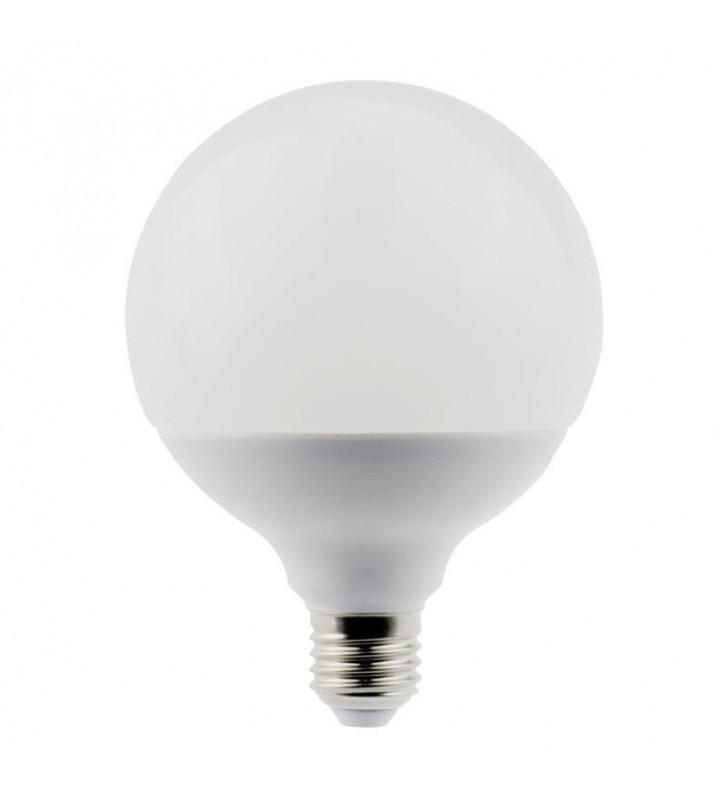 ΛΑΜΠΑ LED E27 18W Φ110 ΓΛΟΜΠΟΣ 6500K EUROLAMP