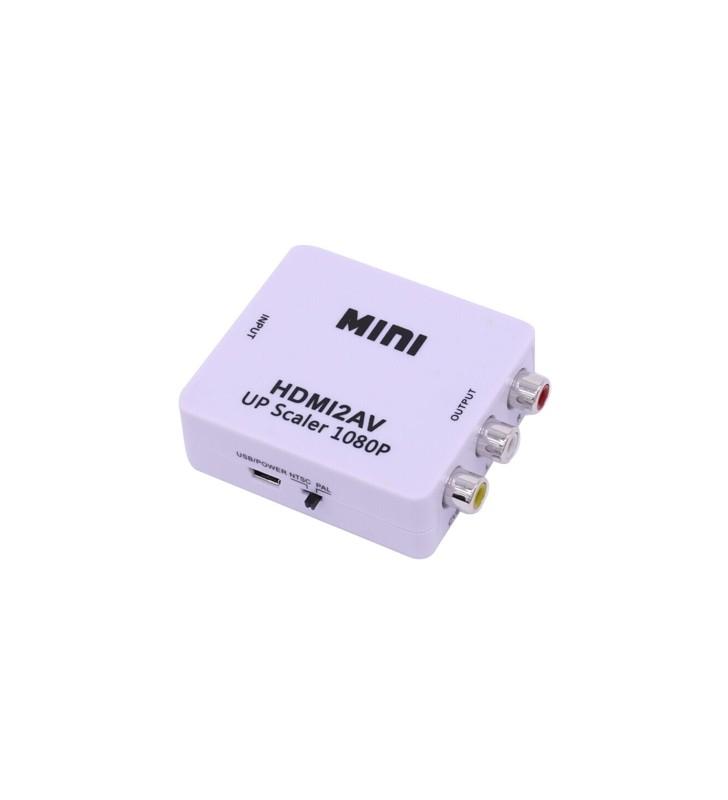 ΜΕΤΑΤΡΟΠΕΑΣ HDMI σε AV (TV) converter - FTT14-003