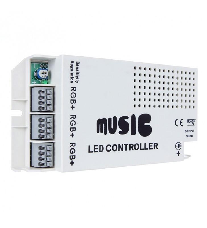 MUSIC CONTROLLER FOR RGB LED ΜΕ ΤΗΛΕΧΕΙΡΙΣΤΗΡΙΟ