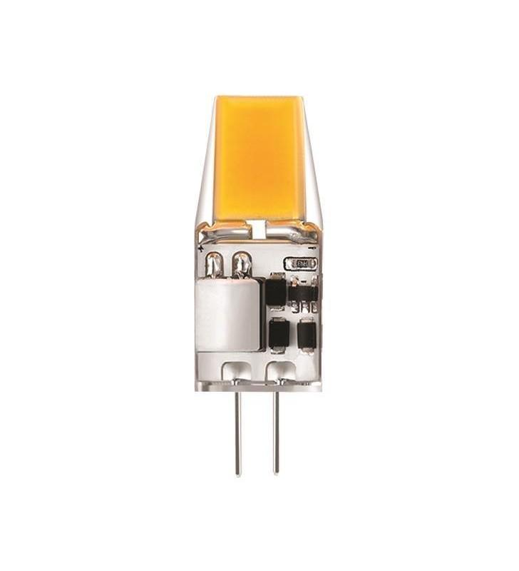 ΛΑΜΠΑ LED COB 3W G4 2700K 12V - EUROLAMP (147-77605)