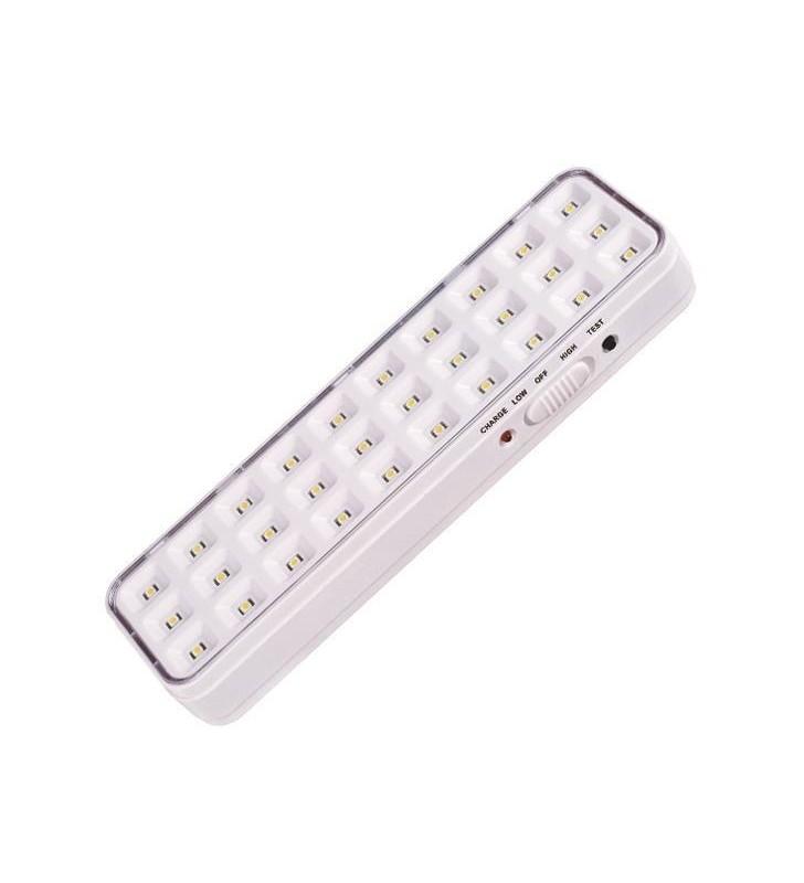 ΦΩΤΙΣΤΙΚΟ ΑΣΦΑΛΕΙΑΣ 30 SMD LED 2W IP20 - EUROLAMP (145-28000)