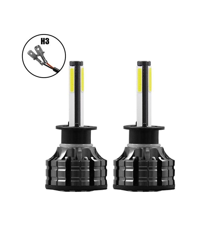 H3 K9 360° LED High Quality 2nd Gen Can Bus 100 Watt 14000 Lm DC 9-32v 6000k GloboStar 99902
