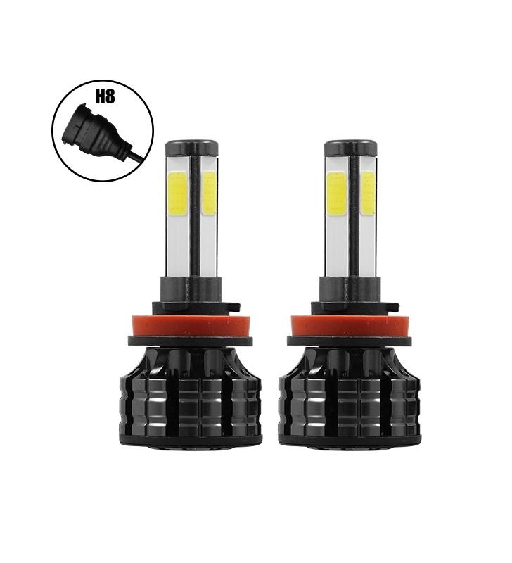 H8 K9 360° LED High Quality 2nd Gen Can Bus 100 Watt 14000 Lm DC 9-32v 6000k GloboStar 99905