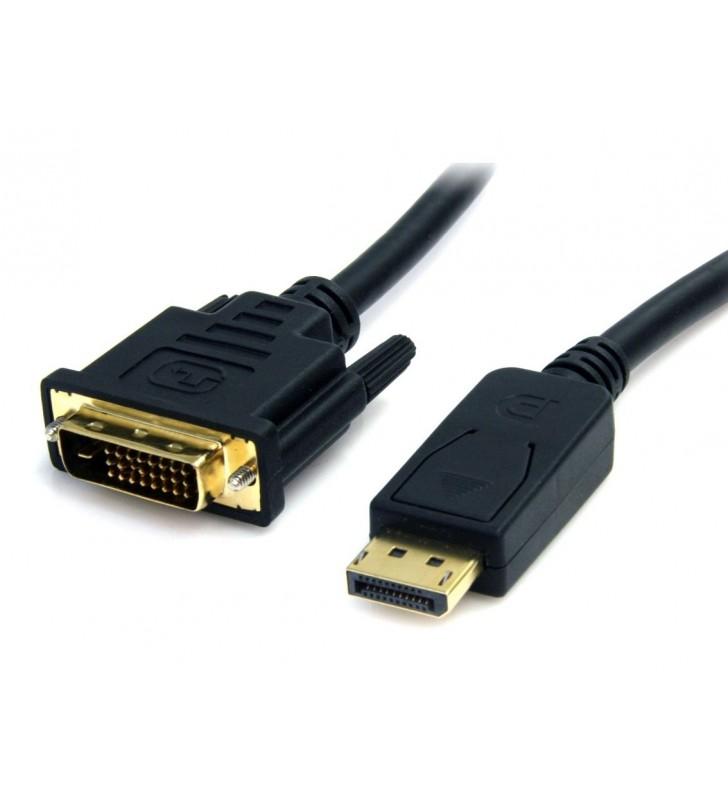 Καλώδιο DVI 24+1 DL σε Displayport, 2560 x 1600DPI, 2m - POWERTECH (CAB-DVI007)