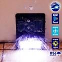 Αυτόνομο Αδιάβρ. IP66 Ηλιακό Φωτοβ/κό Φωτι/κό LED 2W IP66, Ανιχν. Κίνησης 6000k GloboStar 07002