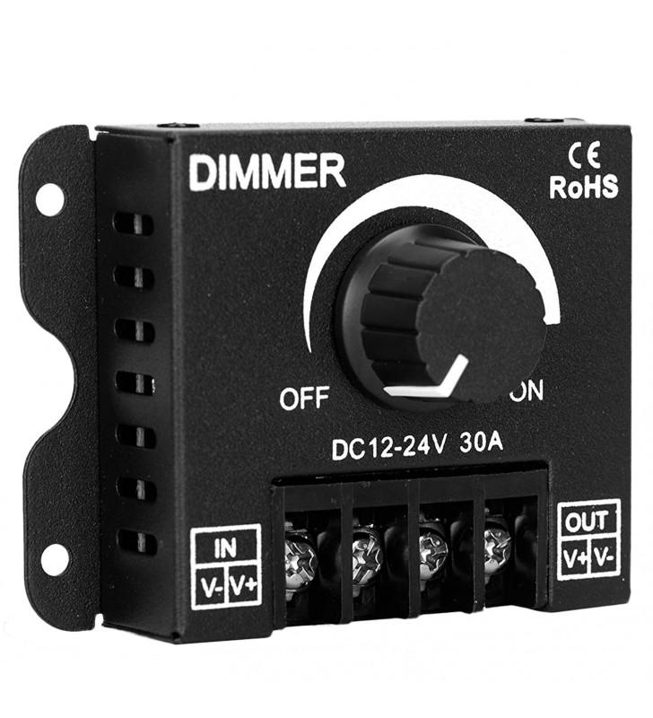 LED Dimmer Εξωτερικό με Ποτενσιόμετρο 12v (360w) - 24v (720w) GloboStar 50041