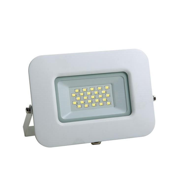 ΠΡΟΒΟΛΕΑΣ LED SMD ΒΑΣΗ 360° 20W ΛΕΥΚΟΣ IP65 6500K PLUS - EUROLAMP (147-69316)