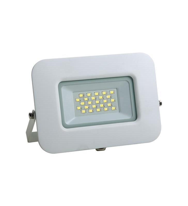 ΠΡΟΒΟΛΕΑΣ LED SMD ΒΑΣΗ 360° 20W ΛΕΥΚΟΣ IP65 4000K PLUS - EUROLAMP (147-69317)