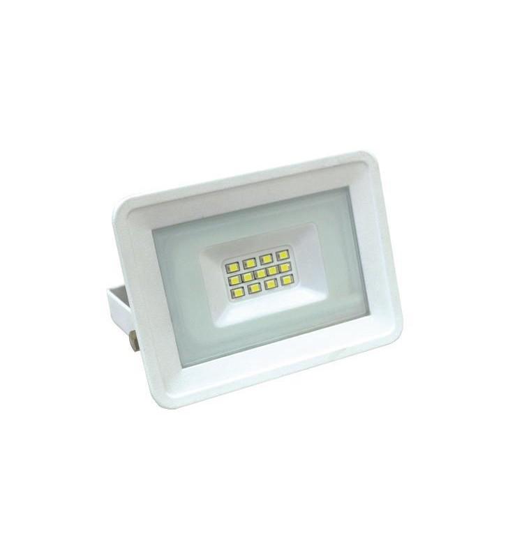 ΠΡΟΒΟΛΕΑΣ LED SMD 10W ΛΕΥΚΟΣ IP65 4000K PLUS - EUROLAMP (147-69401)