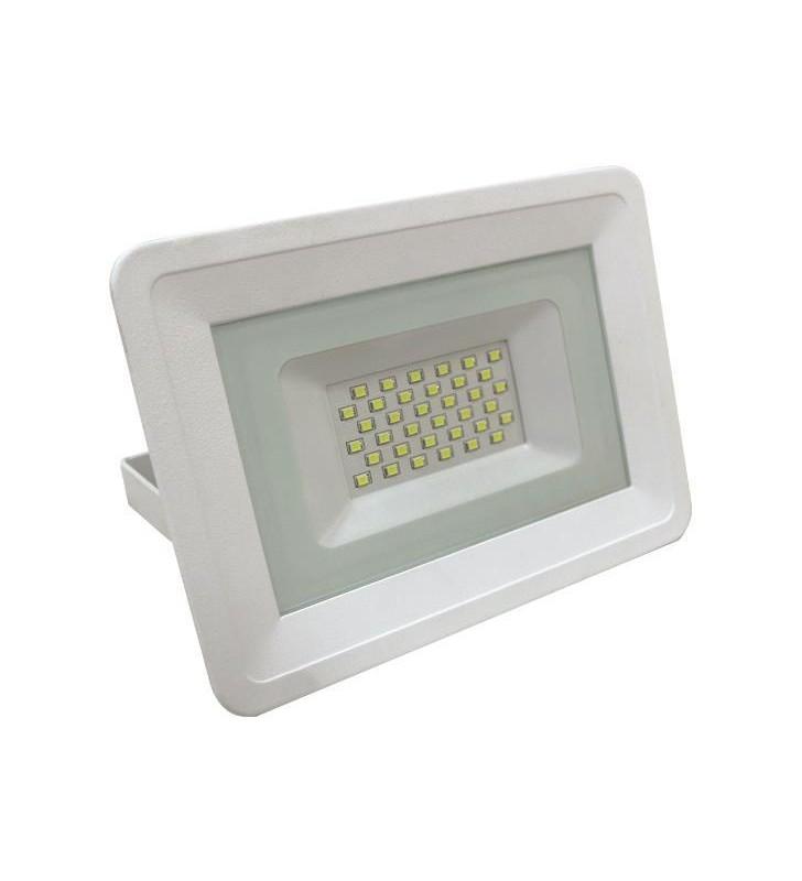 ΠΡΟΒΟΛΕΑΣ LED SMD 30W ΛΕΥΚΟΣ IP65 6500K PLUS - EUROLAMP (147-69420)