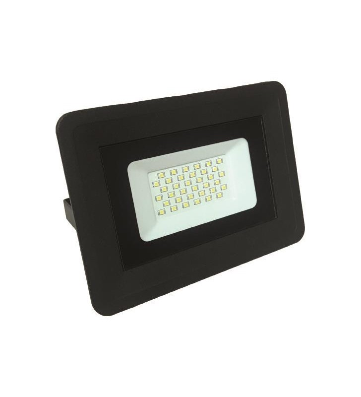 ΠΡΟΒΟΛΕΑΣ LED SMD 30W ΜΑΥΡΟΣ IP65 3000K PLUS - EUROLAMP (147-69425)
