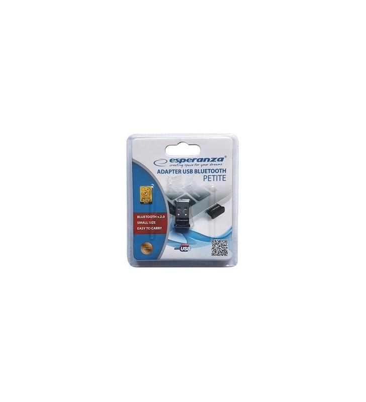 Bluetooth Adapter USB Petite EA159, Bluetooth 2.0 EDR, μαύρο - ESPERANZA (EA159)