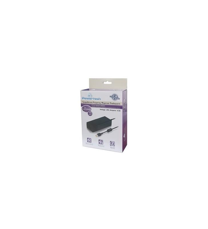 POWERTECH τροφοδοτικό laptop PT-118 για LENOVO, 90 watt, 20V - 4.5A - POWERTECH (PT-118)