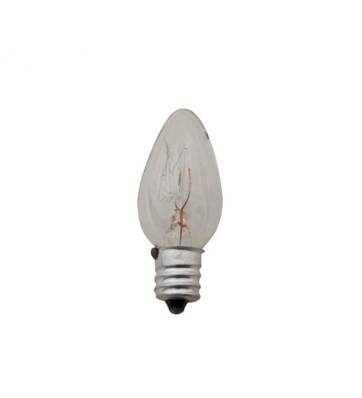 ΛΑΜΠΑΚΙ ΝΥΧΤΟΣ Ε12 7W 230V CLEAR eurolamp