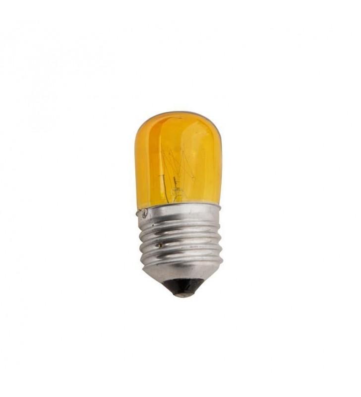 ΛΑΜΠΑΚΙ E27 5W 230V COLOR ΝΥΚΤΑΣ κιτρινο eurolamp