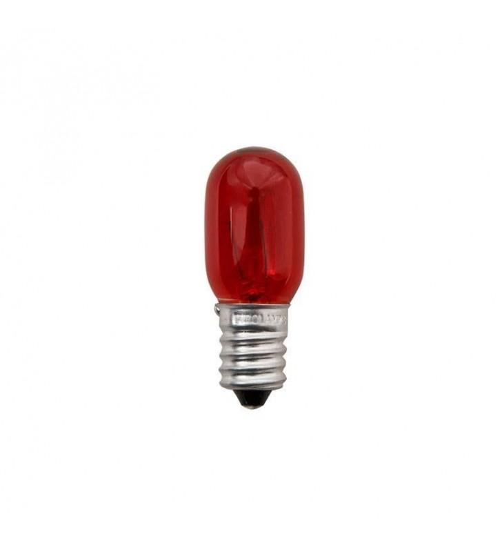 ΛΑΜΠΑΚΙ Ε14 5W 230V COLOR ΝΥΚΤΑΣ κοκκινο eurolamp