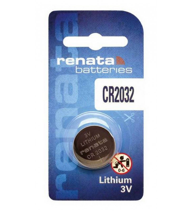 Μπαταρία Buttoncell Lithium Electronics Renata CR2032 Τεμ. 1